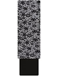 Pal Women's Polyester Unstitched Dress Material (Black)