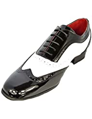 Hombre Niño Borsalino Con Cordones Rossellini De Vestir Casual Zapatos De Boda
