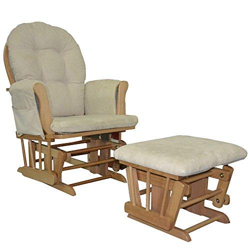 Relax Sessel + Hocker mit Schaukelfunktion