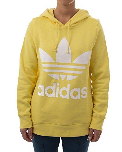 adidas Trefoil Hoodie, Sweatshirt Damen, damen, TREFOIL HOODIE, mehrfarbig (Intlem), 34 Preisvergleich