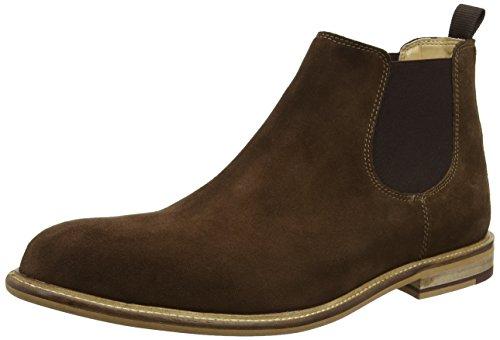 KG by Kurt Geiger Men Halstead NP Ankle Boots, Grey (Grey), 8...
