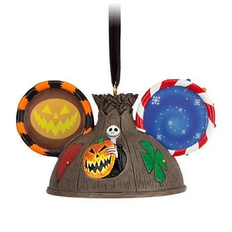 Disney Jack Skellington Ear Hat Ornament by Disney -