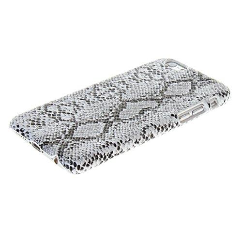MOONCASE Hard Shell Cover Housse Coque Etui Case Pour Apple iPhone 6 Plus Blanc Blanc 01
