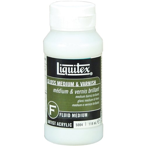Preisvergleich Produktbild Liquitex Gloss Acrylic Fluid Medium & Varnish-4oz