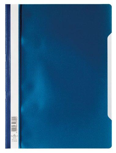 Durable 259307 Sichthefter A4 Standard, PP, 227 x 310 mm, dunkelblau, Beutal à 10 Stück