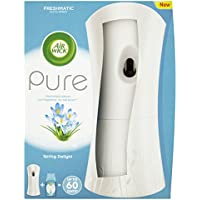 Air Wick Air Freshener, Freshmatic Pure Auto Spray, Spring Delight, Gadget and 1 Refill, 250 ml - ukpricecomparsion.eu