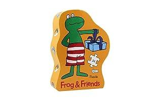 Frog and Friends Puzzle Silueta Fiesta de cumpleaños Barbo Toys 7781