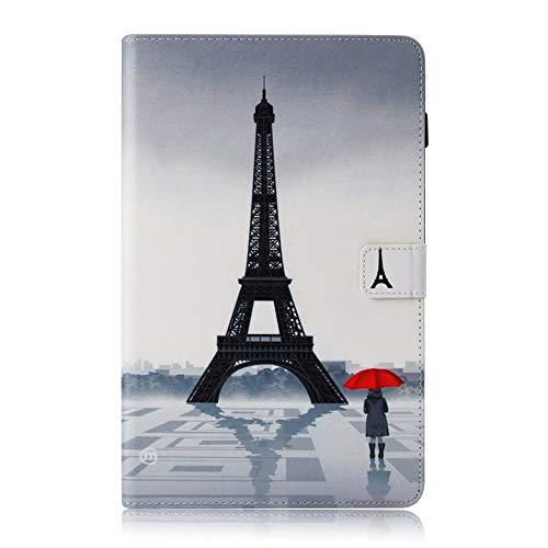 Valenth Galaxy Tab S4 T835 Hülle, PU Leder Brieftasche Cover mit Standfunktion und Kartensteckplätze für Samsung Galaxy Tab S4 10.5 T835 / T830 2018 Release