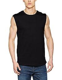 Urban Classics Herren T-Shirt Open Edge Sleeveless Tee