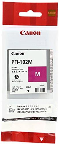 Galleria fotografica Canon 0897B001AA Serbatoio Inchiostro PFI-102M, Magenta
