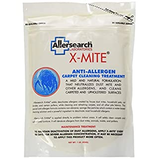 Allersearch X-Mite Dry Powder Carpet Cleaner