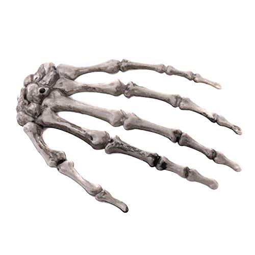 CADANIA 1 para Kunststoff Skeleton Hände Spukhaus Halloween Dekoration Requisiten Kostüm Party Trick Favor Streich Spielzeug Themen EL Club Versorgung