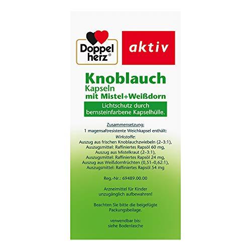 Doppelherz aktiv Knoblauch, 480 Kapseln - 3