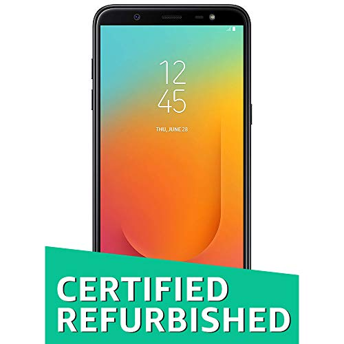 (CERTIFIED REFURBISHED) Samsung Galaxy J8 (Black, 64GB, 4 GB)