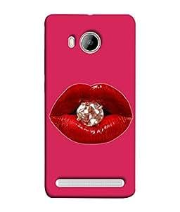 Fuson Designer Back Case Cover for Vivo Xshot :: Vivo X Shot (Kiss Diamond Forever Love exotic)