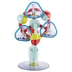 VULLI 230781 Tischspielzeug mit Saugnapf Sophie la girafe, mehrfarbig