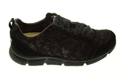 DIADORA HERITAGE donna sneakers basse 161931 01 80013 SYMBOL W LACE Nero ... c2f35b8db9e