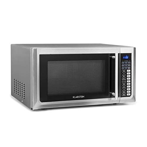 Klarstein Brilliance Pro 43 � Microwave 1000 W � Grill Function 1250 W � Convection 2150 W � 43 L Volume � 9 Programs � Touch Panel � 20 kg � Includes Accessories � Stainless Steel � Silver
