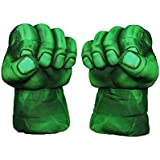 "[Sponsored]Emerge ""The Soft Hulk Smash Hands"" With Holding Sponge Grip Inside, 12 Inches ~ Premium Quality (Set Of 2)"