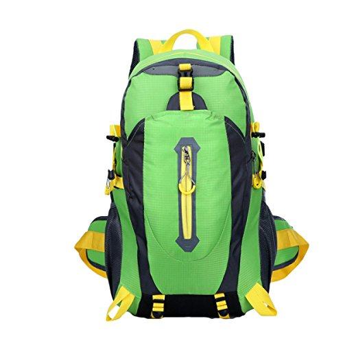 Impermeabile Escursioni Viaggi Borsa Sport Viaggi Esterno Ricreazione Borse Alpinismo,Black Green