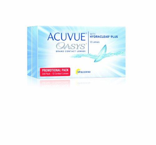 Acuvue Oasys 2-Wochenlinsen weich, 12 Stück / BC 8.4 mm / DIA 14.0 / -1.50 Dioptrien