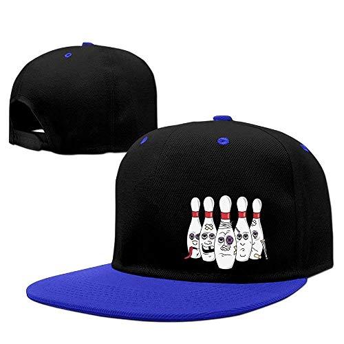 MLNHY Men&Women Funny Bowling Walk Hat Adjustable