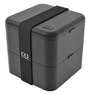 Monbento MB Square noir - La boîte bento carrée