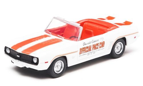 Chevrolet Camaro Super Sport Convertible, Indianapolis 500 Pace Car , 1969, Modellauto, Fertigmodell, Greenlight 1:64