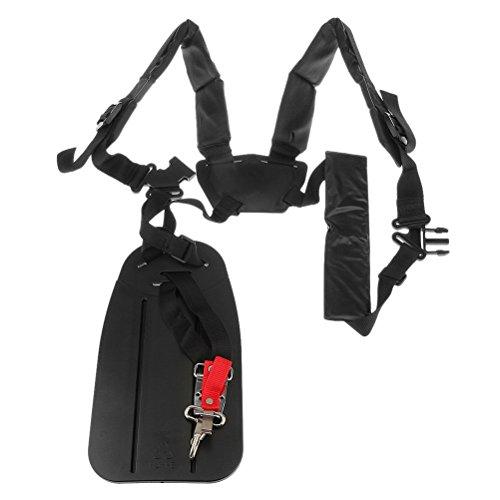 Yardwe Strimmer Double Shoulder Harness Gurt Gepolsterter Gürtel Für Freischneider Trimmer Gardden Pruner - Größe L