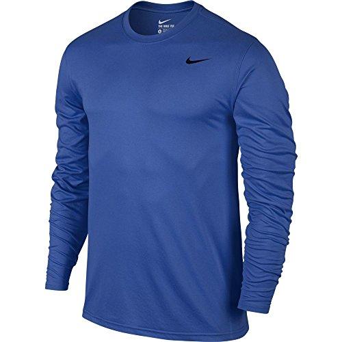 Nike Mens Legende 2.0 Long Sleeve Dri-Fit Trainings T-Shirt Royal Blau/Schwarz 718837-480 Größe 2 X-Large