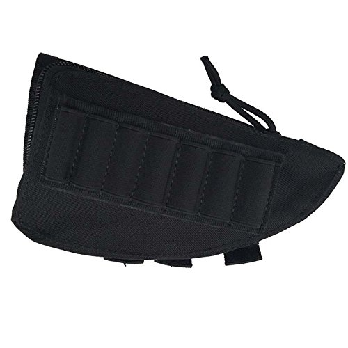 Soulitem New Nylon Gewehr Hinterschaft Cheek Rest Shell Munition Beutel Army Holder Bag -