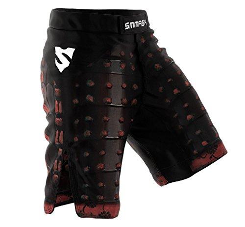 SMMASH MMA Pantalones Cortos SAMURAI S M L XL XXL MMA BJJ UFC Boxen K1 (L)