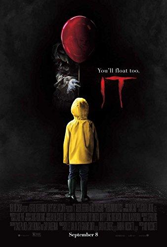 (2017) Original Filmplakat (Jaeden Lieberher) Pennywise Original-Kinoplakat (69Cm X 102Cm) (Die Scary Clown Film)