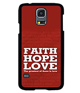 printtech Love Quotes Cool Back Case Cover for Samsung Galaxy S5 G900i::Samsung Galaxy S5 i9600::Samsung Galaxy S5 G900F