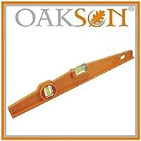 Oakson 767200 Nivel forma de trapecio antigolpes, 400 mm