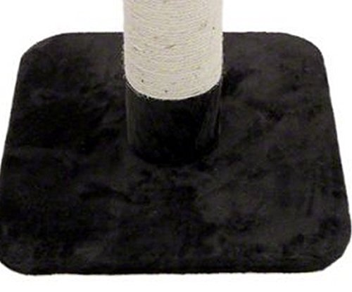 Jumbo Scratching Post - Very Stable And Tall Scratcher Suitable For Small to Large Cats. Elegant Design Will Fit Any Home Decor (Dark Grey) 6