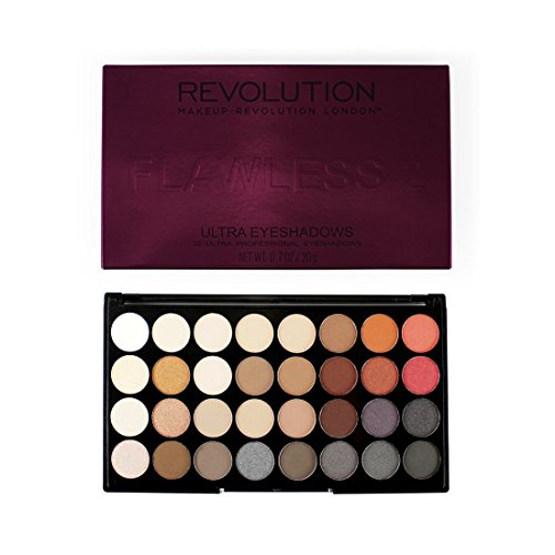 Makeup Revolution Lidschatten Palette Flawless 2