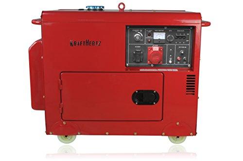 Kraftherz Diesel Stromerzeuger KH6600D Test - 2