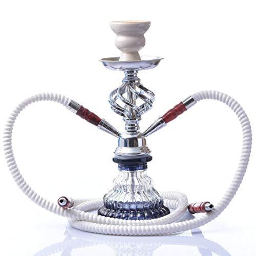 TcooLPE Elegante cachimba, Khalil Mamoon KM Shisha Hookah Cafe Style Genuino Shisha egipcia