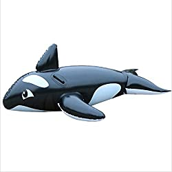 EODUDO-S La Piscine Gonflable de PVC de Baleine Flotte la Forme de Dauphin de siège pour Le Jouet de Flotteur de garçons de Filles d'enfants d'enfants Plus de Styles