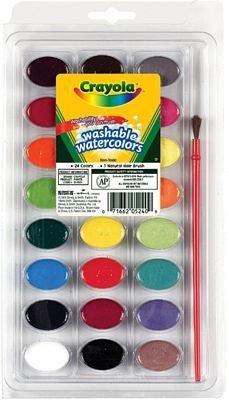 Aquarell 24Stück die lavabilissimi Crayola (Crayola-aquarell)