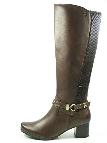 Caprice 9-25616-29 Schuhe Damen Stiefel XL Schaft Langschaft Weite H, Schuhgröße:40.5;Farbe:Braun