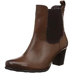 Hush Puppies Women's Karen Tan Light Brown Leather Boots - 4 UK/India (37 EU)(7043960)