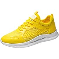 KERULA Sneakers, Woven Breathable Sneakers Fashion Lightweight Casual Shoes Running Comfy Mesh-Comfortable Work Low Top Walking füR Damen & Herren