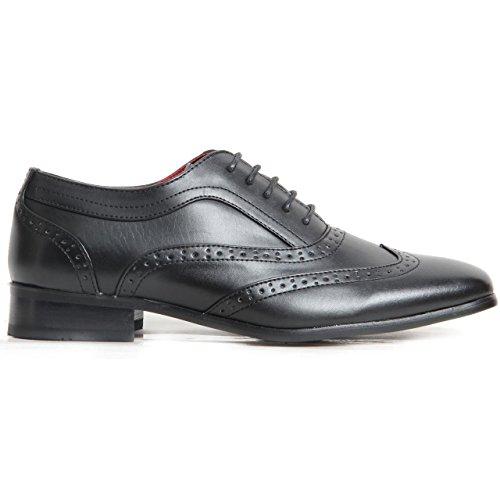 rossellini-borsalino-scarpe-stringate-uomo-nero-black-matte-9-uk