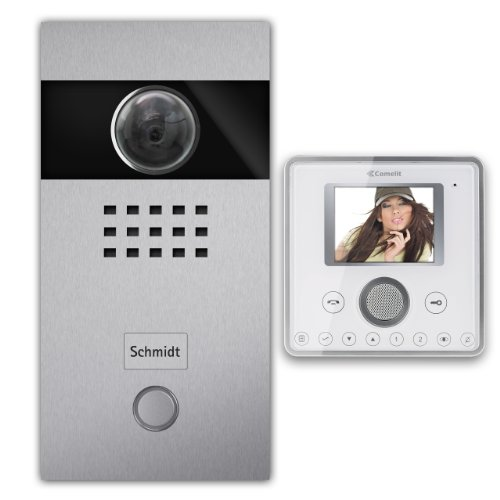 Video door phone set, 1 family house, Stainless Steel