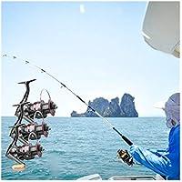 RLJJCS1163 Rotación de Pesca de Bobina Completa del Cuerpo de aleación de Acero Inoxidable Carrete de Pesca de la manija 8 Kg Máxima Pesca Sistema de Resistencia de los trastos