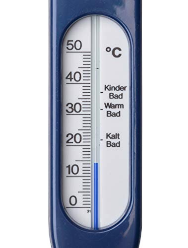 Rotho Babydesign 20057 0103 01 – Badethermometer, baby bleu perl - 3