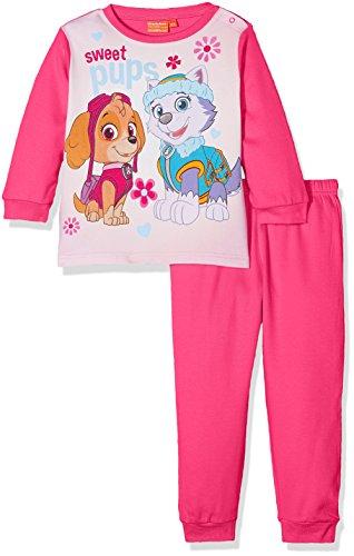 Nickelodeon Baby-Mädchen Pyjama-Sets Paw Patrol Colorful Sweet Pups, Pink (Fushia), 2-3 Jahre (Hersteller Größe: 36 Monate) (Pyjama-3 Monate)
