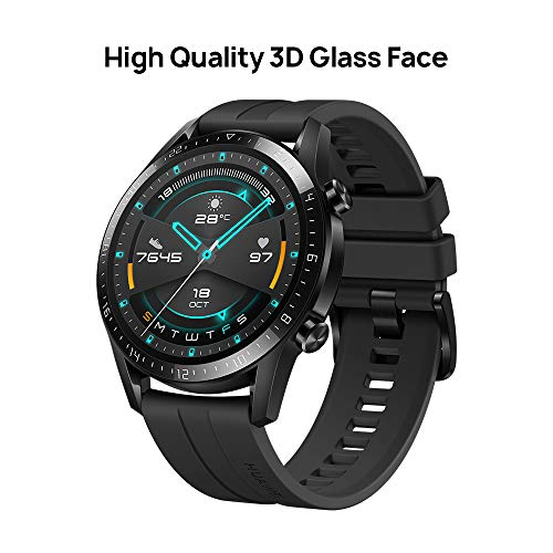 Huawei Watch GT, Smartwatch con Caja de 46 Mm (hasta 2 Semanas de Batería, Pantalla Táctil Amoled de 1.39